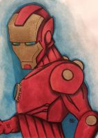 Iron man commission by Pradaninja