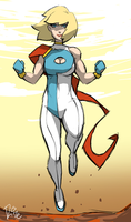 Power Girl by MrRizeAG