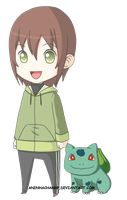 Anna and Bulbasaur ID 2 by aninhachanhp
