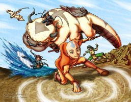 The Gaang by Dustin-C