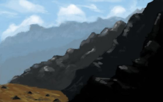 Mountainside by DreamManifested