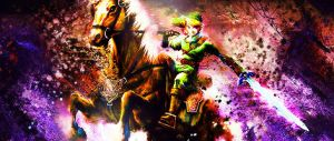 Link And Epona by EntexImmer