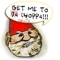 Angry Gnome Chompski Spray by badtrane
