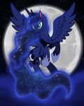 Raise the moon by lizzytheviking