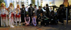 SAO Group Shot at Katsucon 2015 by R-Legend