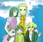 Uzumaki Family  by elfyjello