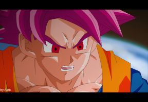 Dragon Ball Z - Battle of Gods scene by AnimaArts