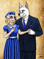 Minor characters : James and Dorothy Hartford by RaynalJacquemin