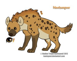 spontanous hyena design by Pain-hyena
