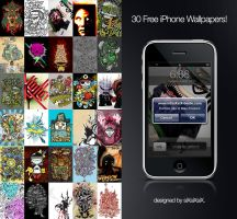 30 Free iPhone Wallpaper by dertrickzer