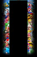 Super Mario Galaxy Youtube background by Pheonixmaster1