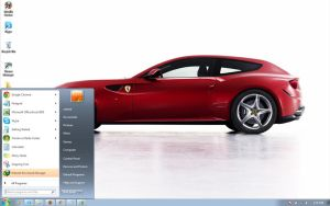 Ferrari-FF-2012 windows 7 theme by windowsthemes