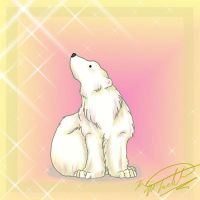 Heart the Polar Bear by Sun-wing