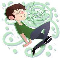 Toby There is So Much Green by kaitlinxing