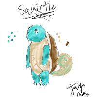 Squirtle by AgentAlaskatheFree