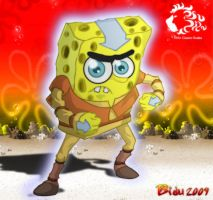 Spongebob: The last airbender by bidujador