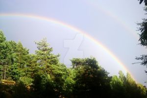 Double Rainbow by Isabella3991