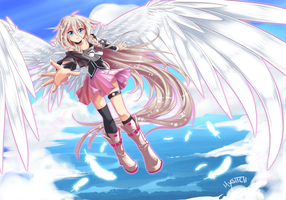 Vocaloid IA by vixiebee