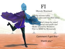 MMD Fi (Hyrule Warriors) DL by BryanRush