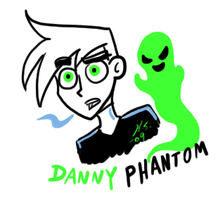 Danny quick doodle by The-Clockwork-Crow