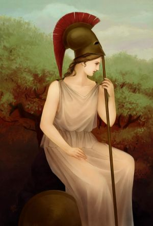 Athena - The Goddess of War
