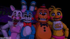 [FNAF - SFM] The Toys Friendship - REMAKE by FahrezaArubusman45