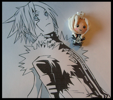 Chibi-Charms: D.Gray-Man Allen by MandyPandaa