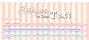 Ribbon Text n.n by marusitaneko