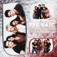 Pack png 45 - TVD Cast by worldofpngs