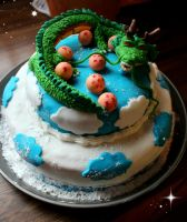 Shenlong cake ~ by Cookiesymbiont