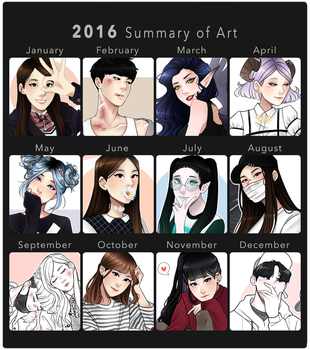 2016 Summary of Art by Hyeoii