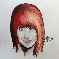 Paramore Hayley Williams by BryanChalas