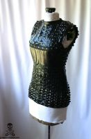 Shrike Metallic Blue Top 2 by smarmy-clothes