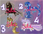 Fantasy Ponies Adoptables - CLOSED by Smiles-and-Adopts