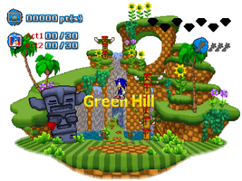 Sonic Generations[Fan Game] Green Hub Preview by marvinvalentin07