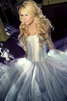 Taylor In A Ball Gown by YouBelongWithMee