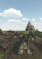 Village by fractal2cry