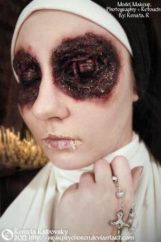 Nun Eyes by psychoren
