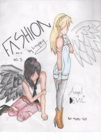 FASHION no.3 - Angel Devil by LinYang
