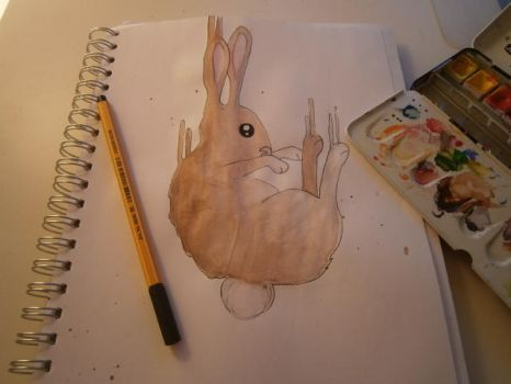 bunny :3 by RoTheHa