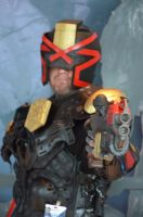 Judge Dredd cosplay at Pax Prime Seattle 2014 by Studio5Graphics