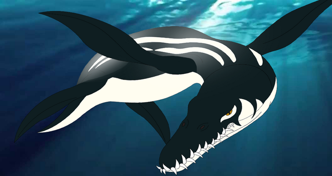 (People of the Water) Liopleurodon by Artapon