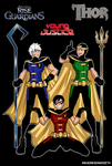 Rise Of The Guardians / Young Justice / Loki by mikaeriksenweiseth