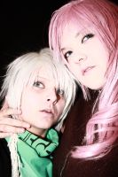 Lightning Farron and Hope Estheim by GoddessOfValhalla