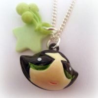 Power Puff Girl Necklace by EssHaych
