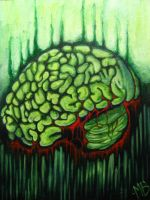 Bloody Green Brain by MalcolmBlaisdell