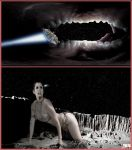 Cosmic Giantess Slave Leia - This Is No Cave Comic by GiantessStudios101