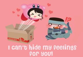 Super Smash Brawl Valentines card Commission by Berri-Blossom