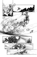 Marvel Sample Page: The Ultimate Spiderman #3 by ARIELAkris