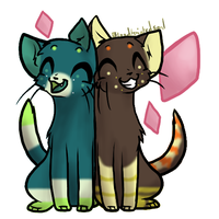 Gift for :ReapedSmile: + Their Friend by ClydeAdopts